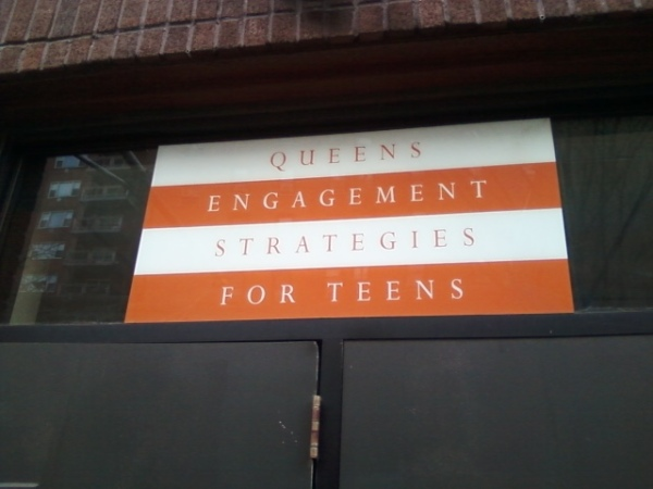 Workshops with Queens Engagement Strategies for Teens